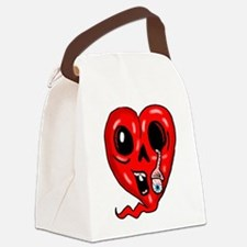 Zombie Heart 3 Canvas Lunch Bag