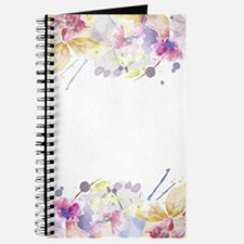 Floral Watercolor Journal