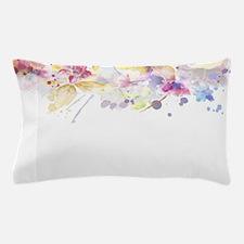 Floral Watercolor Pillow Case