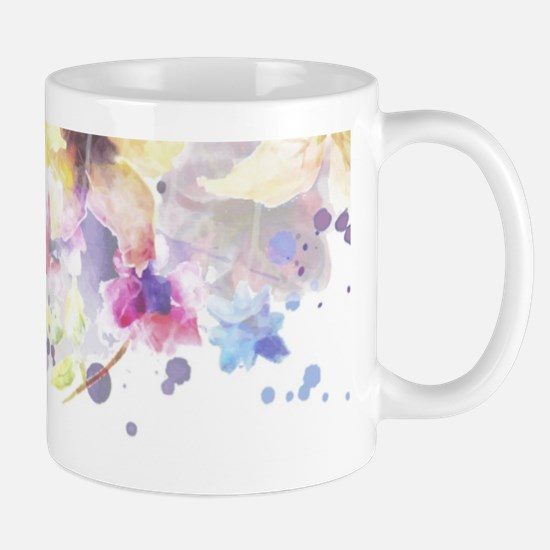 Floral Watercolor Mugs