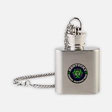 KY ZRT Green Flask Necklace