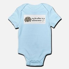 Cool Weimaraner Infant Bodysuit