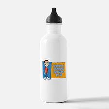 American Dad Steve Tan Water Bottle