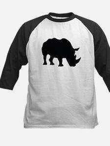 Rhino Silhouette Baseball Jersey