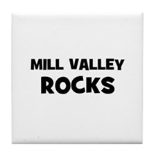 Mill Valley Rocks Tile Coaster