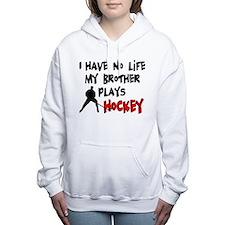 Cute Hockey Women's Hooded Sweatshirt