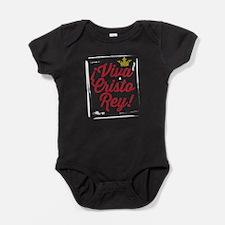 Viva Cristo Rey Baby Bodysuit