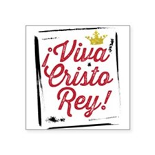 Viva Cristo Rey Sticker