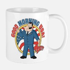American Dad Stan Good Morning USA Mug