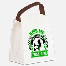 Cute Irish girl Canvas Lunch Bag