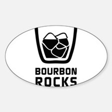Bourbon Rocks Decal