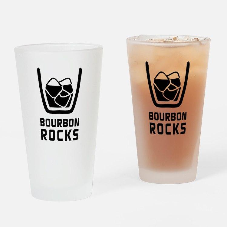 Bourbon Rocks Drinking Glass