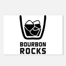 Bourbon Rocks Postcards (Package of 8)