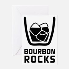 Bourbon Rocks Greeting Cards