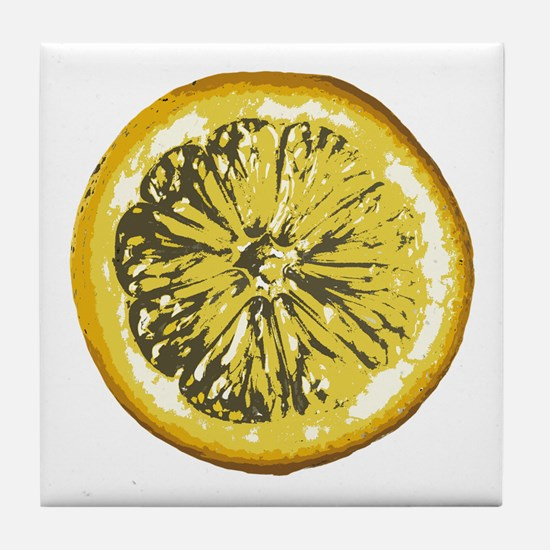 Lemon Tile Coaster