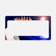 Cool Gay christmas License Plate Holder