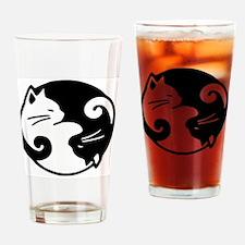 Unique Yin yang Drinking Glass