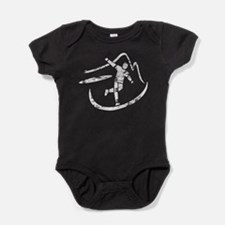 Disc Toss 2016 by TeeCreations Baby Bodysuit