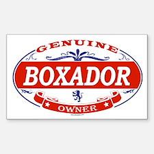 Unique Boxador dog Decal