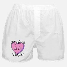 Love_Texas.jpg Boxer Shorts