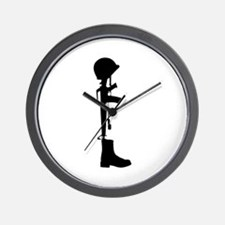 Fallen Soldier Wall Clock