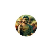 Buddha Sunrise Mini Button