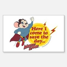 Mighty Mouse: Save The Day Decal