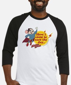 Mighty Mouse: Save The Day Baseball Jersey