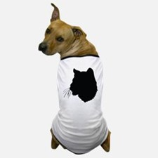 Bobcat Silhouette Dog T-Shirt