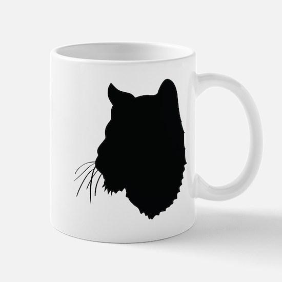 Bobcat Silhouette Mugs