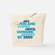 Funny Zero Tote Bag