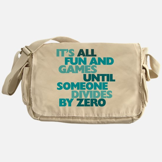 Cute Math humor Messenger Bag