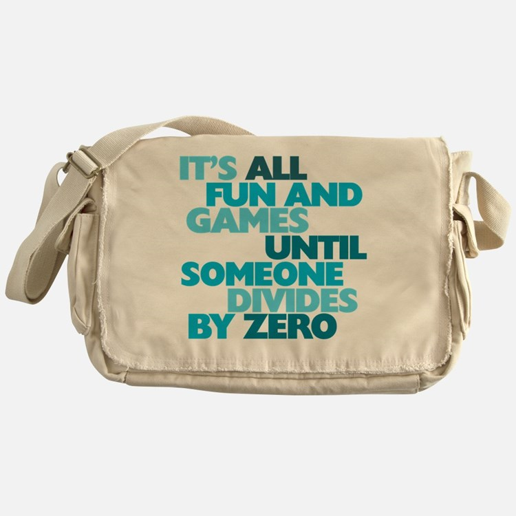 Cute Errors Messenger Bag