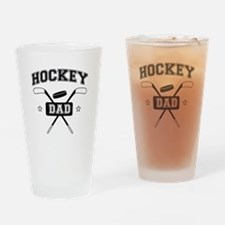 hockey dad Drinking Glass