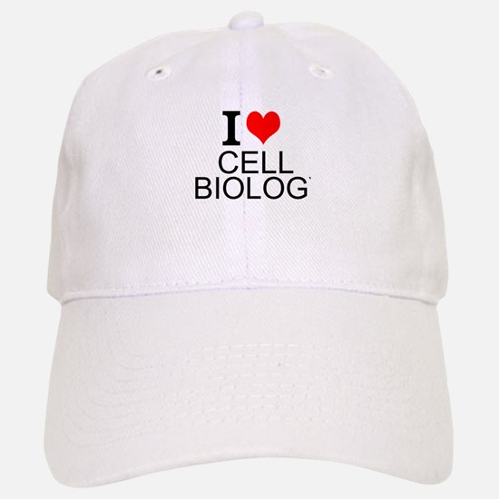 I Love Cell Biology Baseball Baseball Baseball Cap