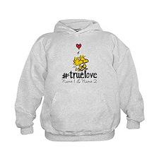 Woodstock True Love - Personalized Kids Hoodie