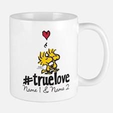 Woodstock True Love - Personalized Small Mugs