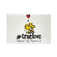 Woodstock True Love - Personalize Rectangle Magnet