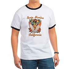 Santa Monica California T T-Shirt