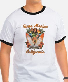 Santa Monica California T T-Shirt