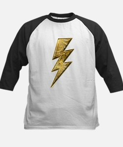 Gold Lightning Bolt Tee