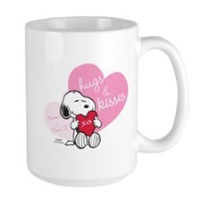 Snoopy Hugs and Kisses - Personalized Mug