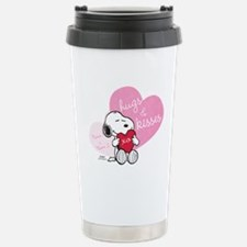 Snoopy Hugs and Kisses Travel Mug