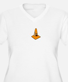Scared Cone Plus Size T-Shirt