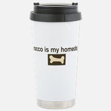 Cute Rocco Travel Mug