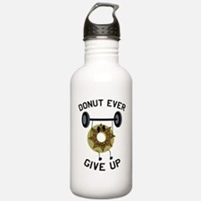 Unique Donut and running Water Bottle