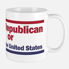 Vote Republin or Bust Mugs