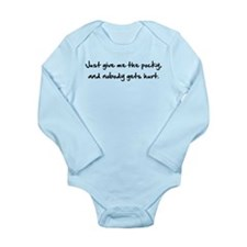 Cute The anime fangirl Long Sleeve Infant Bodysuit