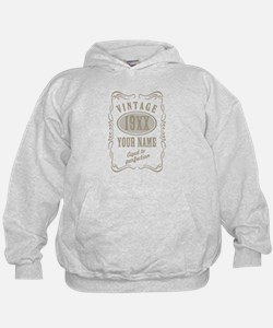 Vintage editable aged to perfection Hoodie