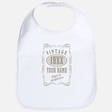 Vintage editable aged to perfection Bib